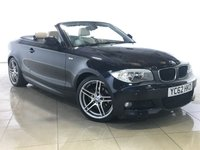 USED 2012 62 BMW 1 SERIES 2.0 118D SPORT PLUS EDITION 2d 141 BHP Light Leather/Real Head Turner