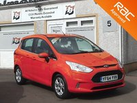 USED 2015 64 FORD B-MAX 1.4 ZETEC 5d 89 BHP 1 Owner , Voice control ,Parking sensors