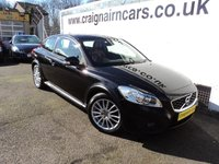 USED 2010 60 VOLVO C30 1.6 D2 SE LUX 3d 113 BHP 42000 Miles+Navigation+Leather Full Service History