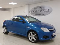 USED 2007 07 VAUXHALL TIGRA 1.4 EXCLUSIV 16V 2d 90 BHP FULL SERVICE HISTORY,  FULL LEATHER, SUPERB VALUE