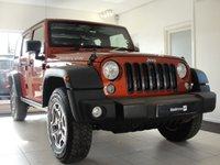 2014 JEEP WRANGLER 3.6 V6 RUBICON UNLIMITED 4d AUTO 280 BHP Hard Top and Soft Top Options £POA