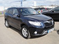 USED 2012 62 HYUNDAI SANTA FE 2.2 STYLE CRDI 5d AUTO 194 BHP ANY PART EXCHANGE WELCOME, COUNTRY WIDE DELIVERY ARRANGED, HUGE SPEC