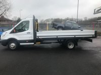 2014 FORD TRANSIT 350 L4 One Stop Alloy Dropside DRW RWD 125PSi £14450.00