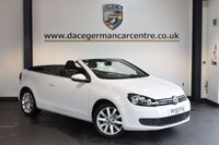 USED 2012 61 VOLKSWAGEN GOLF 1.6 SE TDI BLUEMOTION TECHNOLOGY 2DR 104 BHP + FULL SERVICE HISTORY +  SPORT SEATS + AUXILIARY PORT + HEATED MIRRORS + AIR CONDITIONING + PARKING SENSORS + 17 INCH ALLOY WHEELS +