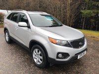 USED 2011 11 KIA SORENTO 2.2 CRDI KX-1 5dr 7 SEATS 4x4 195 BHP 6 MONTHS PARTS+ LABOUR WARRANTY+AA COVER