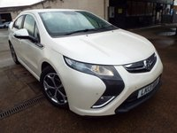2013 VAUXHALL AMPERA 1.4 ELECTRON 5d AUTO 150 BHP £12490.00