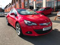 USED 2013 13 VAUXHALL ASTRA 1.7 GTC SRI CDTI S/S 3d 108 BHP BUY NOW, PAY IN JUNE!