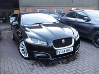 2014 JAGUAR XF 2.2 D R-SPORT 4d AUTO 200 BHP £14780.00