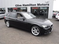 USED 2017 BMW 3 SERIES 2.0 320D ED PLUS TOURING 5d 161 BHP LEATHER & SAT NAV