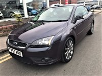 USED 2007 57 FORD FOCUS 2.0 CC2 2d 135 BHP