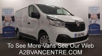 2015 RENAULT TRAFIC 1.6 SL27 BUSINESS PLUS DCI 115 BHP with Air Con, Bluetooth, DAB Radio £8980.00