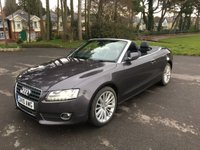USED 2010 10 AUDI A5 2.0 TDI SE 2d 168 BHP LOVELY CONDITION A5 CONVERTIBLE WITH FULL SERVICE HISTORY