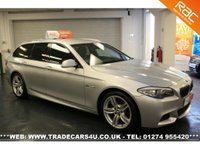 USED 2011 11 BMW 5 SERIES 3.0 525D M SPORT TOURING 5d AUTO  COMPETITIVE FINANCE - NATIONWIDE DELIVERY - PART EX WELCOME - HPI CLEAR - L@@K