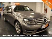 USED 2011 MERCEDES-BENZ C 180 1.8 C180 BLUEEFFICIENCY SPORT EDITION 125 5d AUTO  COMPETITIVE FINANCE - NATIONWIDE DELIVERY - PART EX WELCOME - HPI CLEAR - L@@K