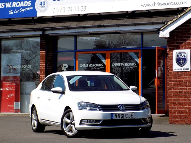 USED 2011 61 VOLKSWAGEN PASSAT 2.0 SE TDi BLUEMOTION TECHNOLOGY 4dr ** Previously sold by us **
