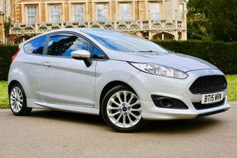 2015 FORD FIESTA 1.0 ZETEC S 3d 124 BHP £8490.00