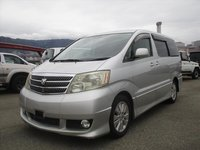 USED 2003 TOYOTA ALPHARD 3LTR READY FOR CONVERSION TO ONE OF OUR CAMPERVANS