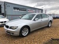 USED 2008 08 BMW 7 SERIES 3.0 730LD SE 4d AUTO 228 BHP