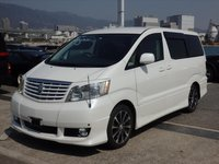 USED 2004 TOYOTA ALPHARD TOYOTA ALPHARD 2.4 READY FOR A CAMPERVAN CONVERSION