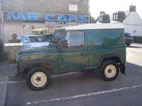 2005 LAND ROVER DEFENDER 2.5 90 HARD-TOP TD5 1d 120 BHP £SOLD