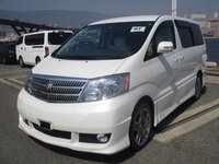USED 2005 TOYOTA ALPHARD 3LTR READY FOR CONVERSION TO ONE OF OUR CAMPERVANS