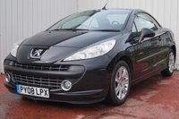USED 2008 08 PEUGEOT 207 1.6 SPORT COUPE CABRIOLET 2d 118 BHP FULL SERVICE HISTORY