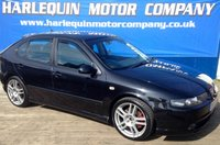 USED 2003 53 SEAT LEON 1.8 T CUPRA 20V 5d 177 BHP SUPERB VALUE FOR MONEY THIS LITTLE POCKET ROCKET 2003 SEAT LEON CUPRA TURBO IN METALLIC BLACK ALLOYS AIRCON PORT FOLIO OF SERVICE HISTORY LONG MOT P/EX TO CLEAR