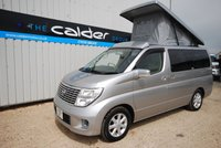 USED 2005 05 NISSAN ELGRAND 2.5 GOOD MILEAGE MPV READY FOR CONVERSION TO A PEOPLE CARRIER
