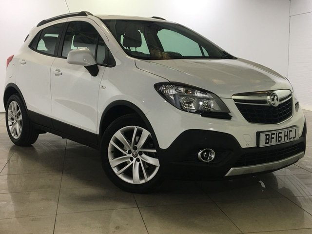 View our 2016 16 VAUXHALL MOKKA 1.6 TECH LINE CDTI S/S 5d 134 BHP