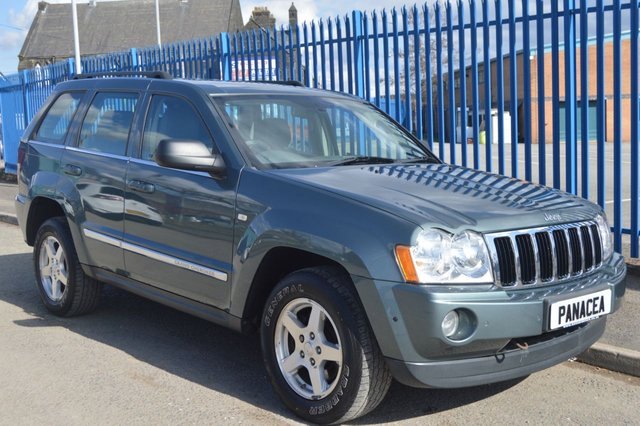 2006 56 JEEP GRAND CHEROKEE 3.0 V6 CRD LIMITED 5d AUTO 215 BHP