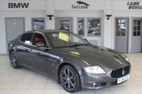 USED 2011 61 MASERATI QUATTROPORTE 4.7 S 4d 430 BHP FULL RED LEATHER SEATS + FULL MASERATI SERVICE HISTORY + SAT NAV + XENON HEADLIGHTS + BLUETOOTH + 19 INCH ALLOYS + FULL ELECTRIC FRONT SEATS WITH MEMORY FUNCTION