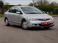 2007 HONDA CIVIC 1.4 i-Dsi ES 4dr IMA CVT Auto £3995.00