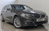 2015 BMW 5 SERIES 2.0 520D LUXURY TOURING 5d AUTO 188 BHP £12990.00