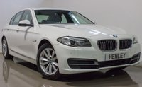 2015 BMW 5 SERIES 2.0 520D SE 4d AUTO 188 BHP £12990.00