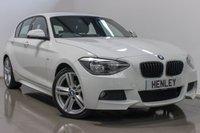 2014 BMW 1 SERIES 2.0 118D M SPORT 5d 141 BHP £9990.00