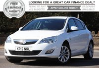 USED 2012 12 VAUXHALL ASTRA 1.6 ACTIVE 5d 113 BHP +++ FREE 6 months Autoguard Warranty included in screen price +++