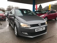 USED 2014 63 VOLKSWAGEN POLO 1.2 MATCH EDITION 5d 69 BHP NEED FINANCE? WE STRIVE FOR 94% ACCEPTANCE