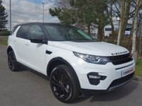 2017 LAND ROVER DISCOVERY SPORT 2.0 TD4 HSE BLACK 5d AUTO 180 BHP £33490.00