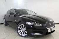USED 2012 62 JAGUAR XF 2.2 D PREMIUM LUXURY 4DR AUTOMATIC 190 BHP FULL SERVICE HISTORY + HEATED LEATHER SEATS + SAT NAVIGATION + REVERSE CAMERA + BLUETOOTH + CRUISE CONTROL + MULTI FUNCTION WHEEL + 18 INCH ALLOY WHEELS
