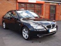 USED 2009 59 BMW 5 SERIES 520D SE BUSINESS EDITION 2.0 4d  LEATHER - SATNAV - GREAT SPEC