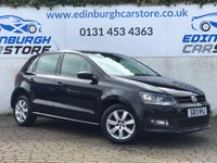2013 VOLKSWAGEN POLO 1.2 MATCH 5 DOOR  69 BHP £6495.00