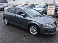 2012 SEAT LEON 1.6 CR TDI SE COPA 5d 103 BHP £6800.00