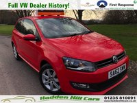 USED 2012 62 VOLKSWAGEN POLO 1.2 MATCH 3d 59 BHP Full VW Service History