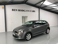 2013 VOLKSWAGEN POLO 1.2 MATCH EDITION 3d 69 BHP £8000.00