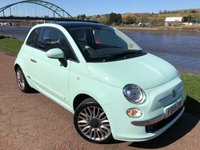 USED 2015 15 FIAT 500 1.2 LOUNGE 3d 69 BHP **BEST COLOUR COMBINATION**