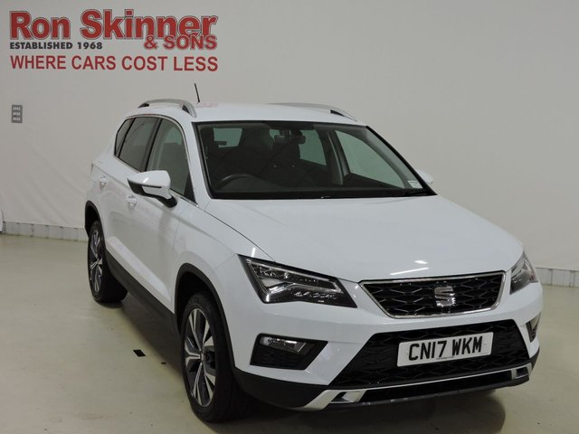 View our 2017 17 SEAT ATECA 1.6 TDI ECOMOTIVE SE TECHNOLOGY 5d 114 BHP
