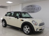 USED 2008 08 MINI HATCH COOPER 1.6 COOPER 3d 118 BHP *PAN ROOF, HALF LEATHER, MOT 27.3.19*