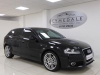 USED 2012 12 AUDI A3 2.0 SPORTBACK TDI S LINE 5d 168 BHP *GREAT LOOKING CAR, HIGH MPG*