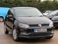 USED 2015 65 VOLKSWAGEN POLO 1.2 SE TSI 3d 89 BHP MANUFACTURERS WARRANTY UNTIL NOVEMBER 2018