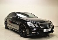 USED 2011 61 MERCEDES-BENZ E CLASS 2.1 E250 CDI BLUEEFFICIENCY SPORT ED125 4d AUTO 204 BHP + 1 PREV OWNER  + AIR CON + AUX + LEATHER SEATS